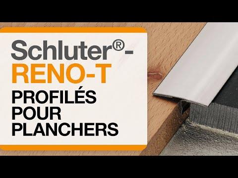 Comment installer un profilé de transition dans un carrelage au sol : Schluter®-RENO-T
