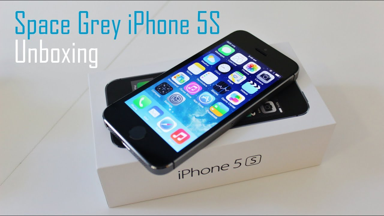Space grey iphone 5s australian unboxing youtube - Wallpaper iphone 5s space grey ...