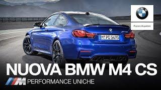 Nuova BMW M4 CS: Performance uniche.