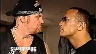 Undertaker & The Rock Backstage