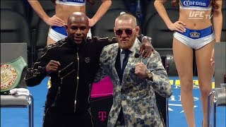 Mayweather vs McGregor: Post-fight Press Conference