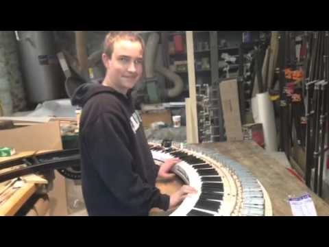 Circle piano Construction