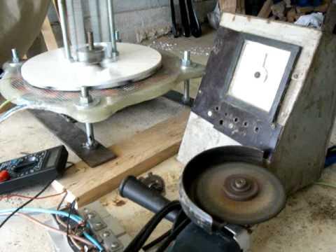 Homemade Alternator Test Bench - 0425