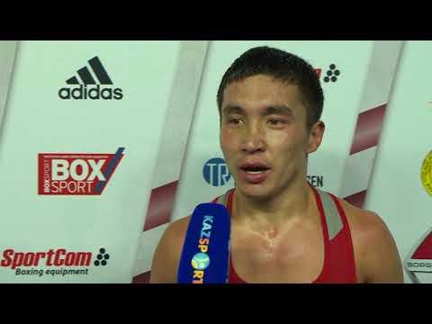 Интервью ЧМ-2017 Ералиев 56 кг (золото)