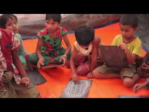 Rohingyakrisen - barnens katastrof