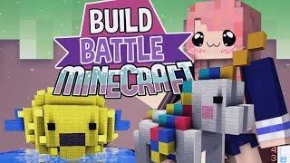Pufferfish! | Build Battle | Minecraft Building Minigame