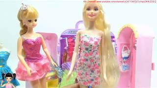 ChiChi ToysReview TV - Trò Chơi may đồ và nhuộm tóc thật cho búp bê