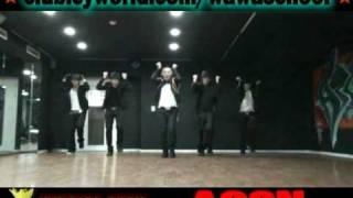 Js entertainment: taeyang wedding dress dance tutorial [2nd.