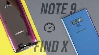 Galaxy Note 9 so sánh OPPO Find X: máy nào mạnh hơn?