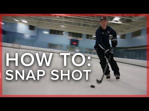 Basics of the Snap Shot   Hockey Tips