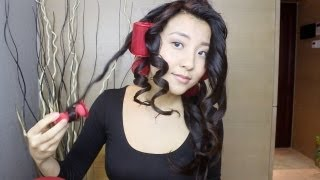 Curls That Last For Days! Caruso Hair Tutorial | cathylulu