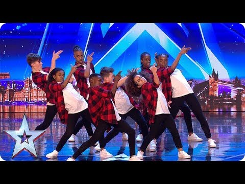 The next generation of dance legends? Meet DVJ... | Auditions Week 1 | Britain's Got Talent 2018