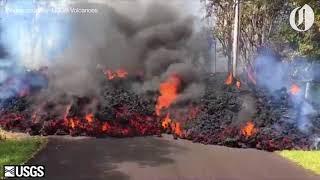 Hawaii's Kilauea volcanic eruption compilation via USGS Volcanoes