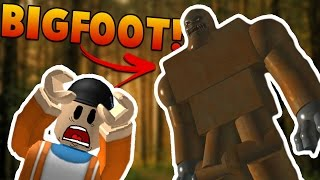FINDING BIGFOOT IN ROBLOX | Let's Play Roblox - Finding Bigfoot Gameplay