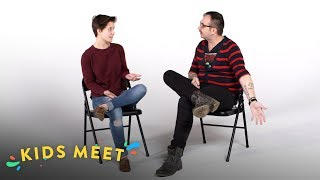 Kids Meet A Gay Conversion Therapy Survivor | Kids Meet | HiHo Kids