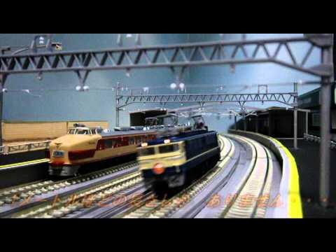 【Nゲージ】フロアレイアウト東海道線(複々線)湘南地区編【鉄道模型】