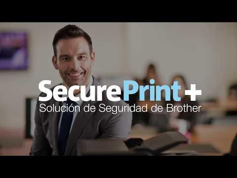 Solución avanzada Brother de seguridad en la impresión, Secure Print +