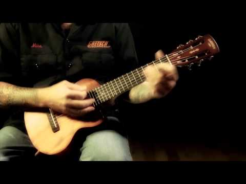 Gretsch Roots Collection G9126-ACE Guitar-Ukulele Demo
