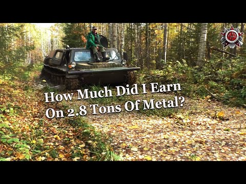 A Day In The Life Of A Metal Scrapper In Russia - Going To The Scrap Yard