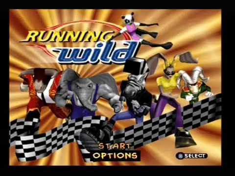 "[Ps1] Introduction du jeu ""Running Wild"" de l'editeur 989 Studios (1998 ..."