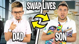 10 Year Old Son and Dad SWAP LIVE'S for a DAY! | The Royalty Family