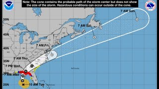 Hurricane Michael is now a Cat 2 storm