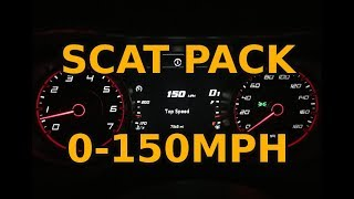 Charger scat pack 0-150 mph pull