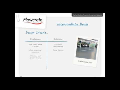 Flowcrete Australia - Car Park Decking Webinar - Parking Australia