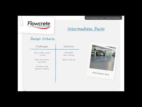 Flowcrete Australia - Car Park Decking Webinar - Parking Australia