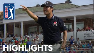 Kevin Na's highlights | Round 4 | Charles Schwab 2019