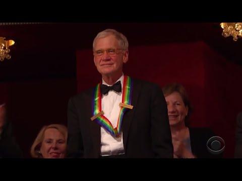 [HD] David Letterman premiato al Kennedy Center - Sub Ita