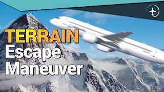Boeing 737NG Terrain Escape manoeuvre!! - Cockpit Video (FFS)