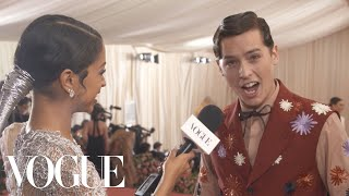 Cole Sprouse on the Inspiration Behind His Met Gala Look | Met Gala 2019 With Liza Koshy | Vogue