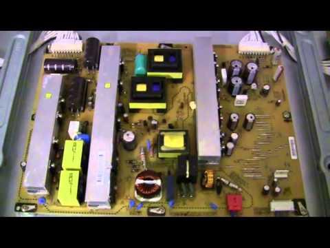 defekter plasma tv lg 50 pk 350 550 750 netzteil kaputt. Black Bedroom Furniture Sets. Home Design Ideas