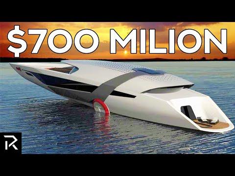 Inside Tesla's 0 Million Superyacht