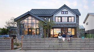 Ngôi nhà với phong cách tối giản đẹp như trong phim của gia đình 4 người ở Hàn Quốc   Zovila