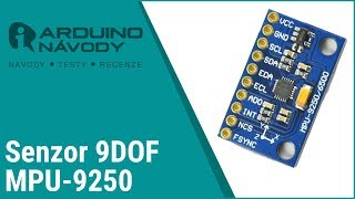 9DOF Gyroscope + Accelerometer + Magnetometer MPU 9250 SPI/IIC