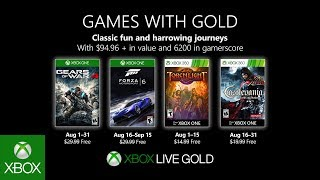 Gear up for Games with Gold in August