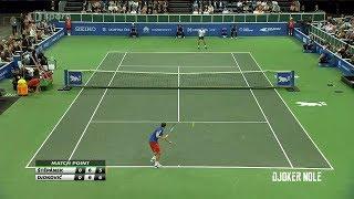 Novak Djokovic vs Radek Stepanek Highlights - Prague 2018 (HD)