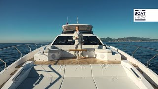 [ENG] AZIMUT GRANDE 27 METRI -  Yacht Tour and Review - The Boat Show