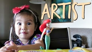 THE ARTIST! - October 10, 2016-  ItsJudysLife Vlogs