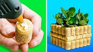 18 AWESOME WAYS TO TRANSFORM OLD TRASH INTO TREASURE