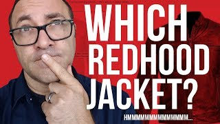 Red Hood Jacket Choice?!?
