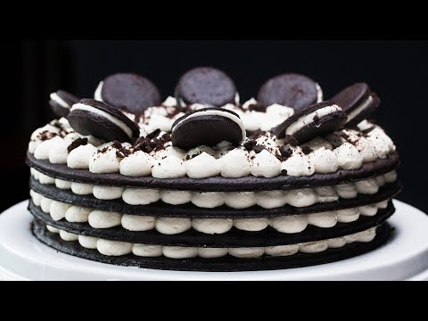 Cookies 'N' Cream Icebox Cake