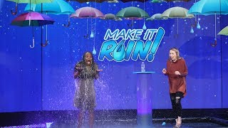 Ellen 'Makes It Rain' $10,000 for a Lucky Fan!