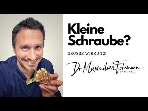 Kleine Schraube? Große Wirkung! | Zahnarzt Dr. Maximilian Fuhrmann