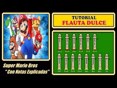 Super Mario Bros en Flauta