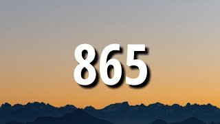 Morgan Wallen - 865 (Lyrics)