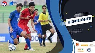 Nhọc nhằn đánh bại U18 Brunei, U18 Lào có 3 điểm đầu tiên tại giải U18 Đông Nam Á 2019 | VFF Channel