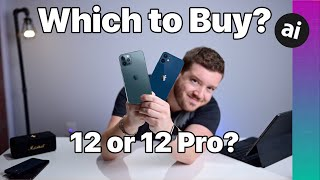 Should You BUY iPhone 12 OR iPhone 12 Pro?! Compared!
